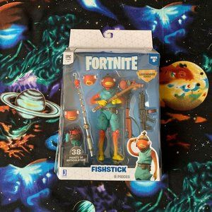 Fortnite FishStick Kid Toy Action Figure